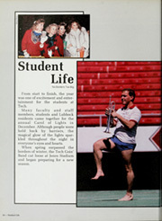 Page 14, 1987 Edition, Texas Tech University - La Ventana Yearbook (Lubbock, TX) online yearbook collection