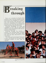 Page 8, 1987 Edition, Texas Tech University - La Ventana Yearbook (Lubbock, TX) online yearbook collection