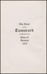 Page 6, 1916 Edition, North Central High School - Tamarack Yearbook (Spokane, WA) online yearbook collection