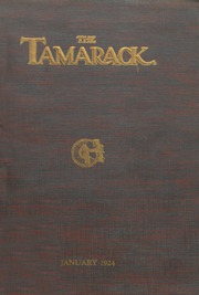 Page 1, 1924 Edition, North Central High School - Tamarack Yearbook (Spokane, WA) online yearbook collection