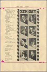 Page 17, 1930 Edition, North Central High School - Tamarack Yearbook (Spokane, WA) online yearbook collection
