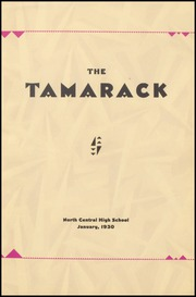 Page 5, 1930 Edition, North Central High School - Tamarack Yearbook (Spokane, WA) online yearbook collection