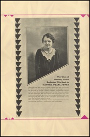 Page 8, 1930 Edition, North Central High School - Tamarack Yearbook (Spokane, WA) online yearbook collection