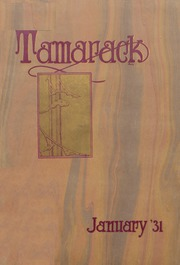 North Central High School - Tamarack Yearbook (Spokane, WA) online yearbook collection, 1931 Edition, Page 1