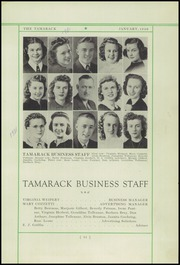 Page 13, 1940 Edition, North Central High School - Tamarack Yearbook (Spokane, WA) online yearbook collection