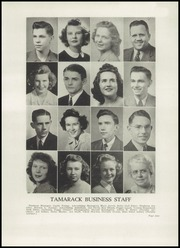 Page 15, 1943 Edition, North Central High School - Tamarack Yearbook (Spokane, WA) online yearbook collection