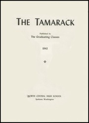 Page 7, 1943 Edition, North Central High School - Tamarack Yearbook (Spokane, WA) online yearbook collection