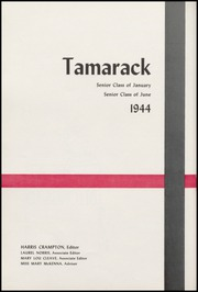 Page 6, 1944 Edition, North Central High School - Tamarack Yearbook (Spokane, WA) online yearbook collection