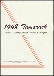 Page 7, 1948 Edition, North Central High School - Tamarack Yearbook (Spokane, WA) online yearbook collection