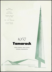Page 5, 1957 Edition, North Central High School - Tamarack Yearbook (Spokane, WA) online yearbook collection