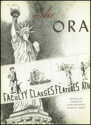 Page 6, 1943 Edition, Lanier High School - Oracle Yearbook (Montgomery, AL) online yearbook collection