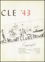 Page 7, 1943 Edition, Lanier High School - Oracle Yearbook (Montgomery, AL) online yearbook collection
