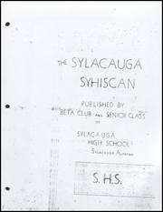 Page 5, 1942 Edition, Sylacauga High School - Syhiscan Yearbook (Sylacauga, AL) online yearbook collection