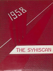 1958 Edition, Sylacauga High School - Syhiscan Yearbook (Sylacauga, AL)