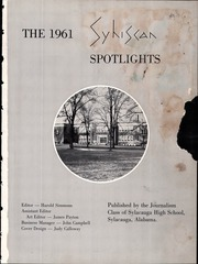 Page 9, 1961 Edition, Sylacauga High School - Syhiscan Yearbook (Sylacauga, AL) online yearbook collection