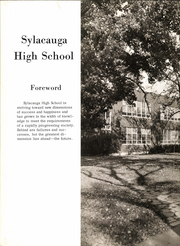 Page 6, 1962 Edition, Sylacauga High School - Syhiscan Yearbook (Sylacauga, AL) online yearbook collection