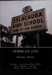 Page 5, 1970 Edition, Sylacauga High School - Syhiscan Yearbook (Sylacauga, AL) online yearbook collection