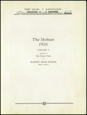 Page 9, 1931 Edition, Murphy High School - Mohian Yearbook (Mobile, AL) online yearbook collection