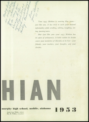 Page 11, 1953 Edition, Murphy High School - Mohian Yearbook (Mobile, AL) online yearbook collection