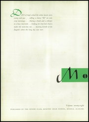 Page 8, 1954 Edition, Murphy High School - Mohian Yearbook (Mobile, AL) online yearbook collection