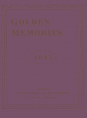 Page 1, 1921 Edition, Decatur High School - Golden Memories Yearbook (Decatur, AL) online yearbook collection