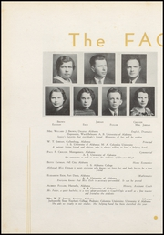 Page 14, 1936 Edition, Decatur High School - Golden Memories Yearbook (Decatur, AL) online yearbook collection
