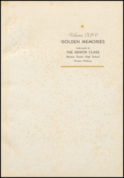 Page 5, 1936 Edition, Decatur High School - Golden Memories Yearbook (Decatur, AL) online yearbook collection