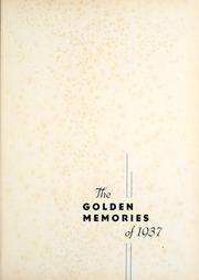 Page 5, 1937 Edition, Decatur High School - Golden Memories Yearbook (Decatur, AL) online yearbook collection