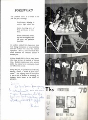 Page 7, 1970 Edition, Buckhorn High School - Buckeye Yearbook (New Market, AL) online yearbook collection