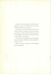Page 8, 1968 Edition, West End High School - Resume Yearbook (Birmingham, AL) online yearbook collection