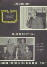 Page 11, 1954 Edition, Central High School - Red And Black Yearbook (Phenix City, AL) online yearbook collection