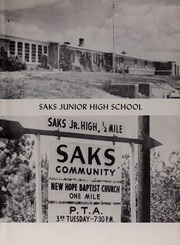 Page 7, 1956 Edition, Saks High School - Saks Echoes Yearbook (Anniston, AL) online yearbook collection