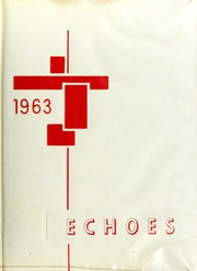 1963 Edition, Saks High School - Saks Echoes Yearbook (Anniston, AL)