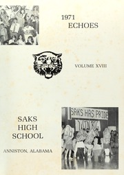 Page 5, 1971 Edition, Saks High School - Saks Echoes Yearbook (Anniston, AL) online yearbook collection