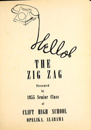 Page 5, 1955 Edition, Opelika High School - Zig Zag Yearbook (Opelika, AL) online yearbook collection