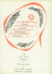 Page 5, 1957 Edition, Opelika High School - Zig Zag Yearbook (Opelika, AL) online yearbook collection