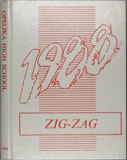 1988 Edition, Opelika High School - Zig Zag Yearbook (Opelika, AL)