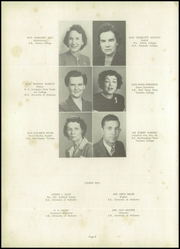 Page 12, 1948 Edition, Huntsville High School - Pierian Yearbook (Huntsville, AL) online yearbook collection