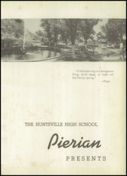 Page 5, 1948 Edition, Huntsville High School - Pierian Yearbook (Huntsville, AL) online yearbook collection
