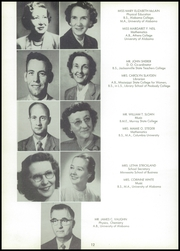 Page 16, 1957 Edition, Huntsville High School - Pierian Yearbook (Huntsville, AL) online yearbook collection