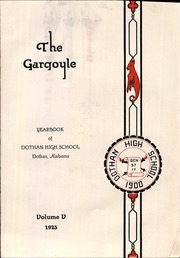Dothan High School - Gargoyle Yearbook (Dothan, AL) online yearbook collection, 1925 Edition, Page 7