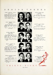 Page 17, 1938 Edition, Dothan High School - Gargoyle Yearbook (Dothan, AL) online yearbook collection