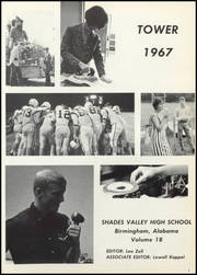Page 5, 1967 Edition, Shades Valley High School - Tower Yearbook (Birmingham, AL) online yearbook collection
