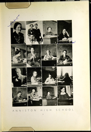 Page 11, 1937 Edition, Anniston High School - Hour Glass Yearbook (Anniston, AL) online yearbook collection