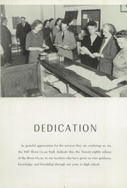 Page 10, 1947 Edition, Anniston High School - Hour Glass Yearbook (Anniston, AL) online yearbook collection
