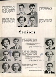 Page 14, 1951 Edition, Anniston High School - Hour Glass Yearbook (Anniston, AL) online yearbook collection