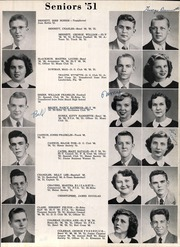 Page 15, 1951 Edition, Anniston High School - Hour Glass Yearbook (Anniston, AL) online yearbook collection