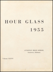 Page 5, 1955 Edition, Anniston High School - Hour Glass Yearbook (Anniston, AL) online yearbook collection