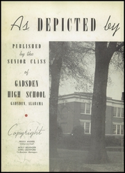 Page 6, 1947 Edition, Gadsden High School - Crucible Yearbook (Gadsden, AL) online yearbook collection