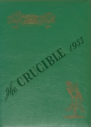 Page 1, 1953 Edition, Gadsden High School - Crucible Yearbook (Gadsden, AL) online yearbook collection